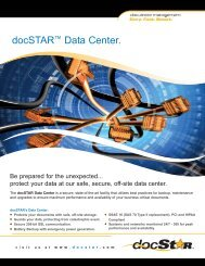 Data Center Latham Oct 2012:Layout 1.qxd - DocSTAR Document ...