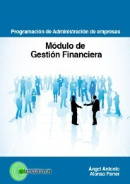 Programación de Administración de Empresas - Publicatuslibros.com