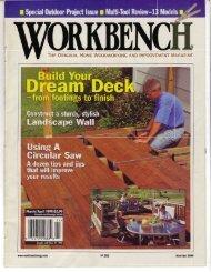 THE OnIGINAL Honag WoopwoRKING RIrIp IIT ... - Wood Tools