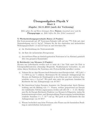 168ubungsaufgaben f252r die physik ii uni rostock
