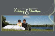 Lake County Weddings and Celebrations Brochure