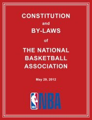 NBA-Constitution-and-By-Laws