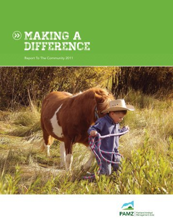 making a difference - Parkland Airshed Management Zone Association