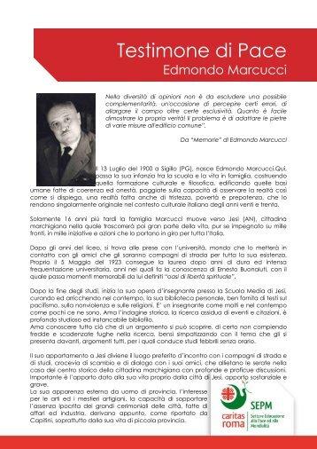 Edmondo Marcucci - Caritas Roma