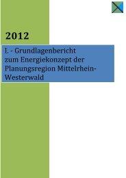 Grundlagenbericht Energiekonzept - Planungsgemeinschaft ...