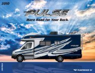 More Road for Your Buck. 2010 - RVUSA.com
