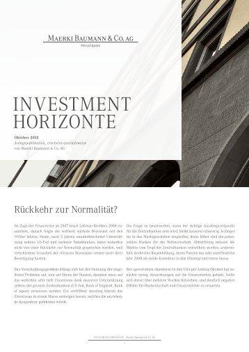 PDF (8 Seiten) - Maerki Baumann & Co. AG