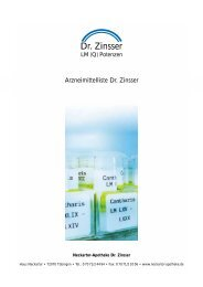 Dr. Zinsser - Neckartor Apotheke