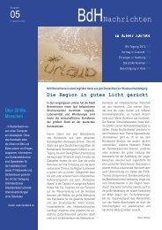 Ausgabe 5 - BdH Newsletter S1.indd