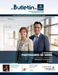 Bulletin No 3 Mai 2013 - CPASS - Université de Montréal