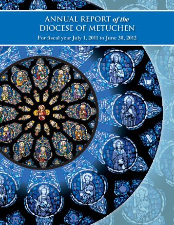 ANNUAL REPORT of the DIOCESE OF METUCHEN