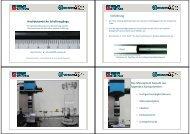 Hochdynamische Schaltvorgänge - Medizinische Sensor