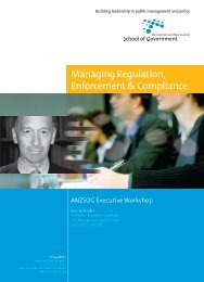 Managing Regulation, Enforcement & Compliance - Australia and ...