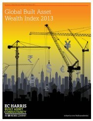 Global Built Asset Wealth Index 2013 - EC Harris