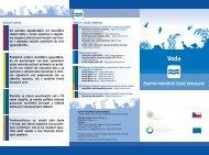 Voda - CENIA, česká informační agentura životního prostředí