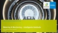 Metering+Monitoring: Energie- und Medienverbräuche in ... - Bilfinger