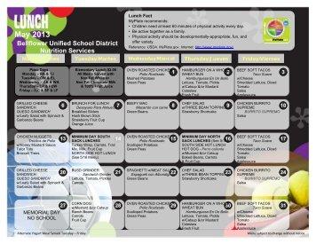 May 2013 - Bellflower Unified School District