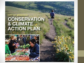 Municipal Conservation and Climate Action Plan - Sonoran Institute