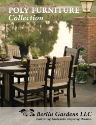 Poly Furniture Collection 2010