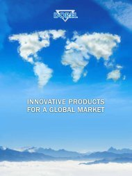 INNOVATIVE PRODUCTS FOR A GLOBAL MARKET - Dorel Industries