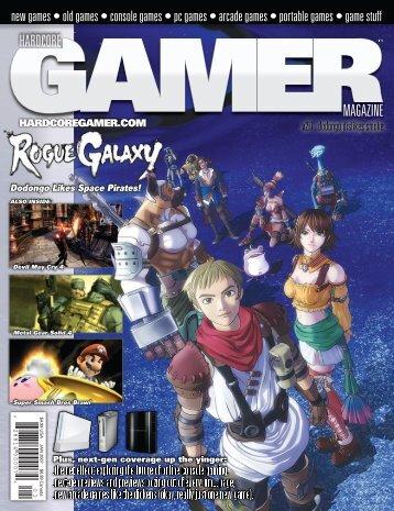 Volume 2 Issue 7 January 2007 Rogue Galaxy - Hardcore Gamer