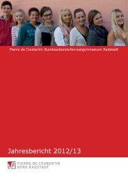 Schuljahr 2012/13 - BORG Radstadt - Salzburg.at