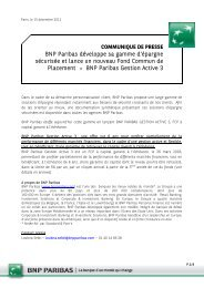 BNP Paribas Gestion Acti