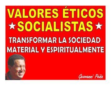 La Ética Socialista en la Gestión Pública