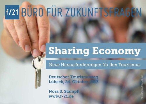 Präsentation: Sharing Economy - f/21 - Büro für Zukunftsfragen