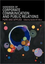 Handbook of Corporate Communication and Public ... - Blogs Unpad