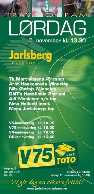 1 - Jarlsberg Travbane