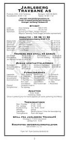 1 - Jarlsberg Travbane - Page 2