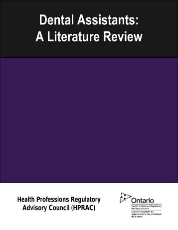 Effectiveness of regulation: literature review and analysis