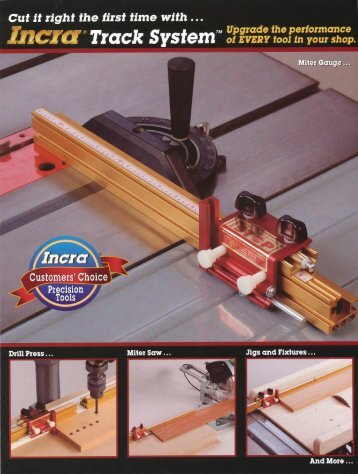 INCRA Track System Brochure