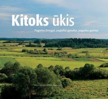KitoKs ūKis - Baltijos aplinkos forumas Lietuvoje