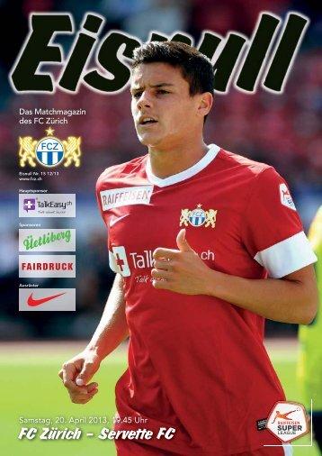 Nr. 15 12/13 - FC Zürich