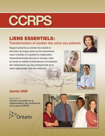 Transformation et soutien des soins aux patients (PDF) - Health ...