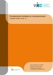 Persisterende trofoblast en choriocarcinoom (1.2) - Kwaliteitskoepel