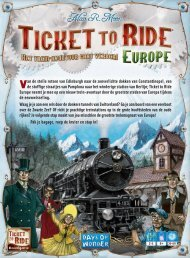 TTR2 europe rules Rev2 NL 2013:TTR2 europe ... - Days of Wonder