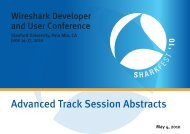 SHARKFEST'10 ABSTRACTS & BIOS ADVANCED_TRACK 05.04.10