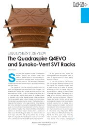 The Quadraspire Q4EVO and Sunoko-Vent SVT Racks