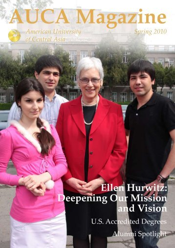 Deepening Our Mission and Vision - American University of Central ...