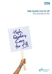 High Quality Care for All Our journey so far - AEMH