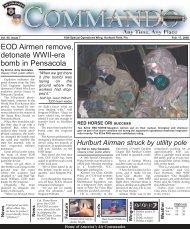 EOD Airmen remove, detonate WWII-era bomb in ... - Hurlburt Field