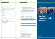 Jahrbuch Intensivmedizin 2011/2012 - Pabst Science Publishers