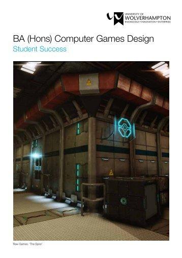 BA (Hons) Computer Games Design