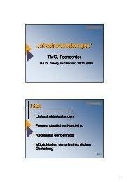 download Dr. Bruckmüller Infrastrukturleistungen ... - Inkoba