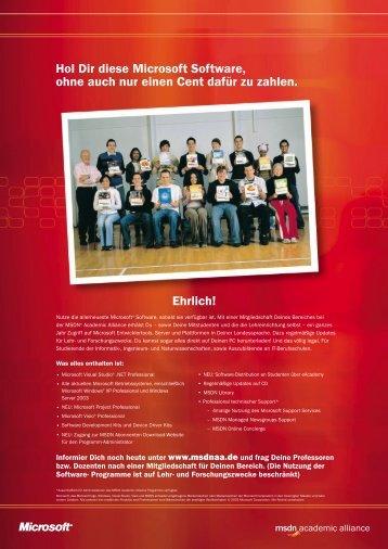 MSDN AA, pdf - Vorlesungen