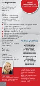 ISK Tagesseminar in Heidelberg & Dresden 13 ... - Medical Service - Seite 2
