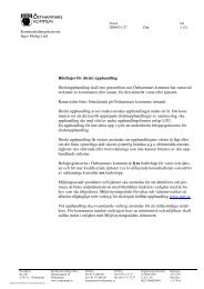 Riktlinjer för direktupphandling - Östhammars kommun